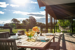 alfresco living at lakeside